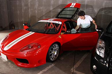 ハイランダーの出張洗車サービス「田中式洗車法」